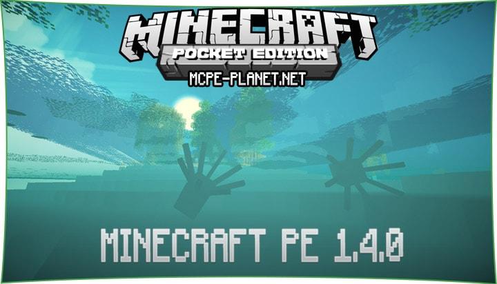 Скачать Minecraft 1.4.0 для Android