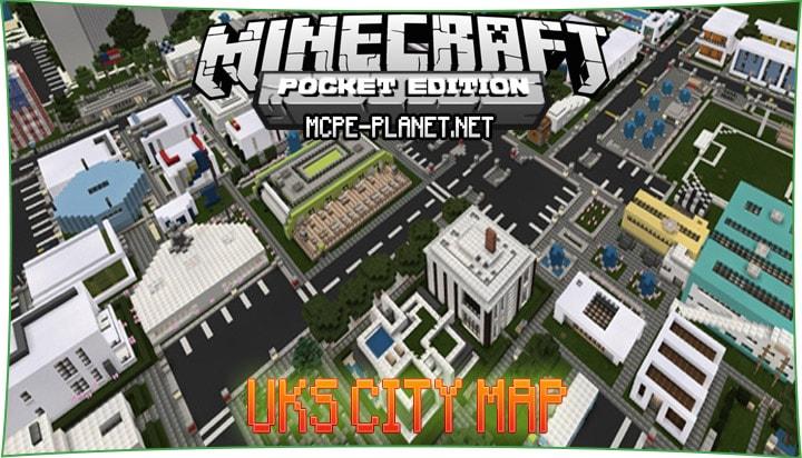UKS City - карта города 1.4.2, 1.4, 1.2, 1.1.5