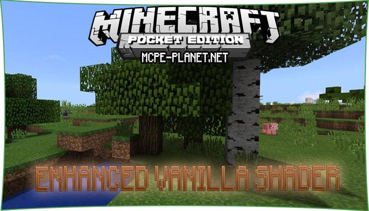 Enhanced Vanilla Shader 1.7, 1.4, 1.2.8, 1.2, 1.1.5