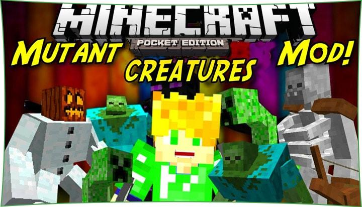 Mutant Creatures - мод на мутантов 1.7, 1.4, 1.2.8, 1.2, 1.1.5