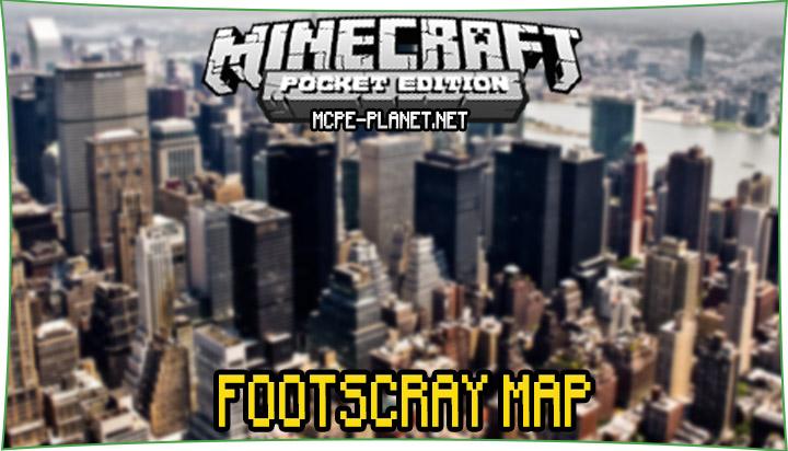 Footscray - карта большого города 1.7, 1.6, 1.4, 1.2, 1.1.5