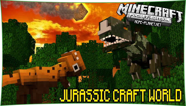 Jurassic Craft World 1.6, 1.4, 1.2, 1.1.5