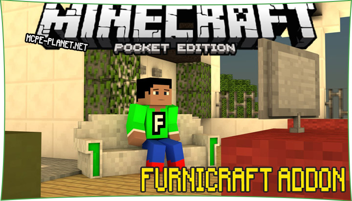 Furnicraft - мод на мебель 1.6, 1.4.2, 1.4, 1.2.8, 1.2, 1.1.5