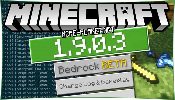 Скачать Minecraft 1.9.0.3