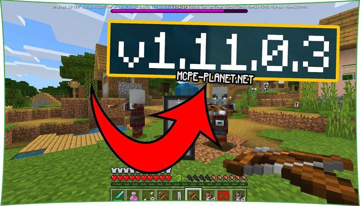 Скачать Minecraft 1.11.0.3