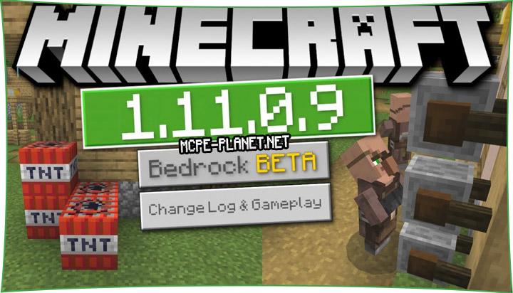 Скачать Minecraft 1.11.0.9