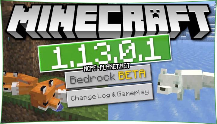 Скачать Minecraft 1.13.0.1