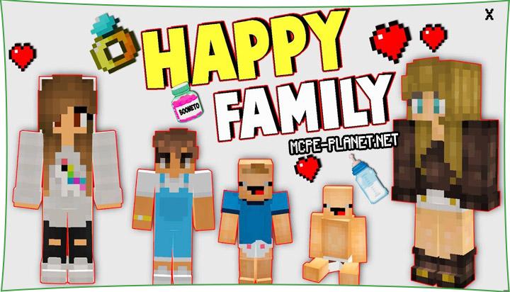 Happy Family - мод на семью и детей 1.16, 1.15, 1.14, 1.13