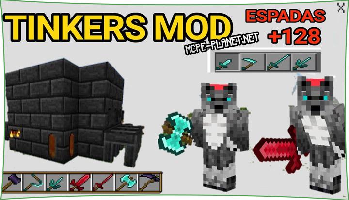 Tinker's Legacy - мод на новое оружие 1.16, 1.15, 1.14, 1.13