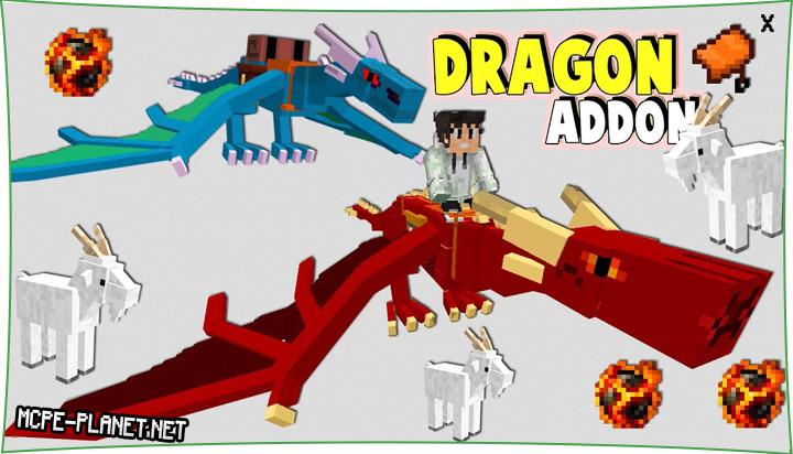 DRAGONCRAFT - мод на драконов 1.16, 1.15, 1.14, 1.13