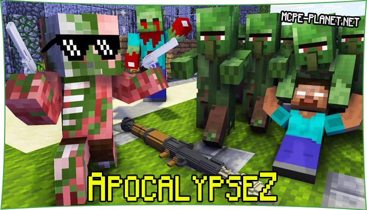 Мод на зомби апокалипсис - ApocalypseZ 1.16, 1.15, 1.14, 1.13