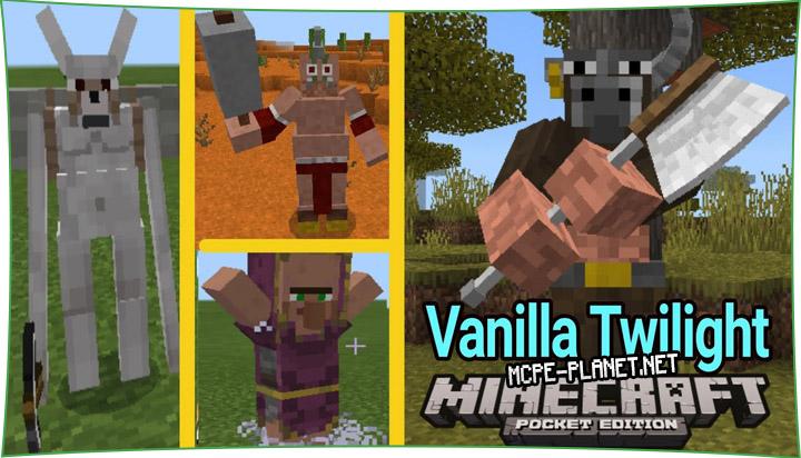 Vanilla Twilight - мод на монстров 1.15, 1.14, 1.13, 1.12