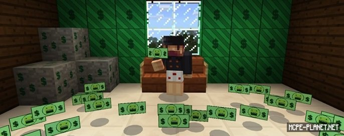 Notchs Money addon