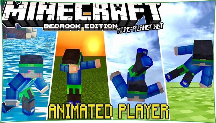 Animated Player - мод на новую анимацию 1.14, 1.13, 1.12