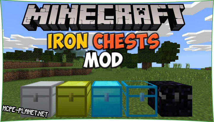 Iron Chests - мод на сундуки 1.15, 1.14, 1.13, 1.12
