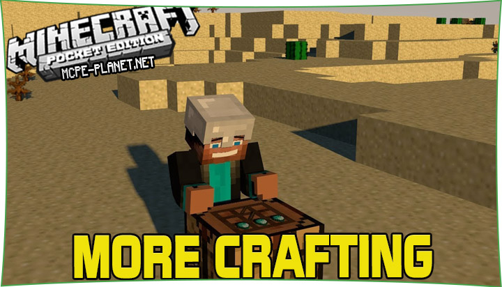 More Crafting - мод на крафты 1.16, 1.15, 1.14, 1.13