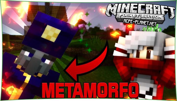 Metamorfo - превращение в убитых мобов 1.16, 1.15, 1.14, 1.13