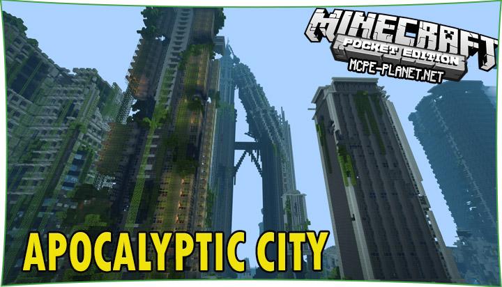 Apocalyptic City - карта Зомби апокалипсис