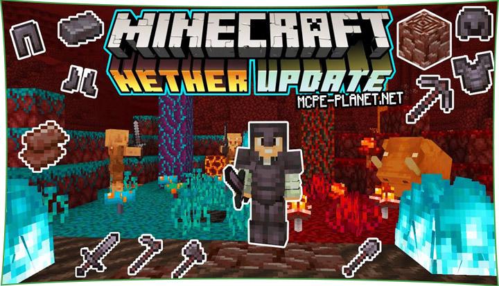 Nether Update - мод на Ад (Адское обновление) 1.14, 1.13, 1.12