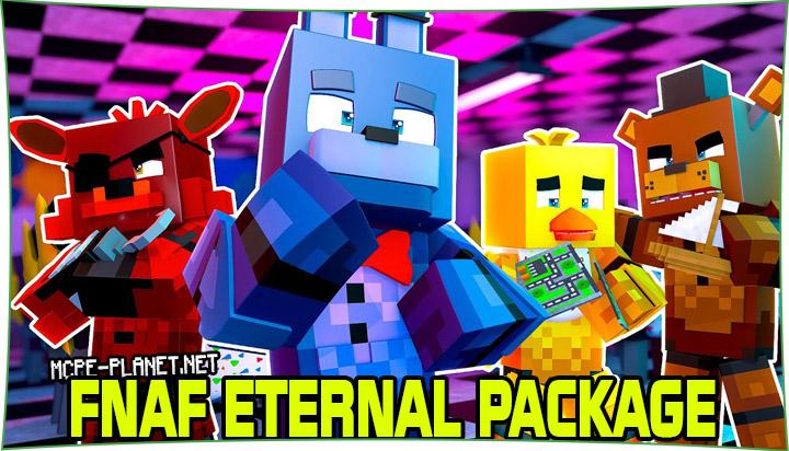 Fnaf Eternal Package - Аниматроники из Фнаф 1.14, 1.13, 1.12